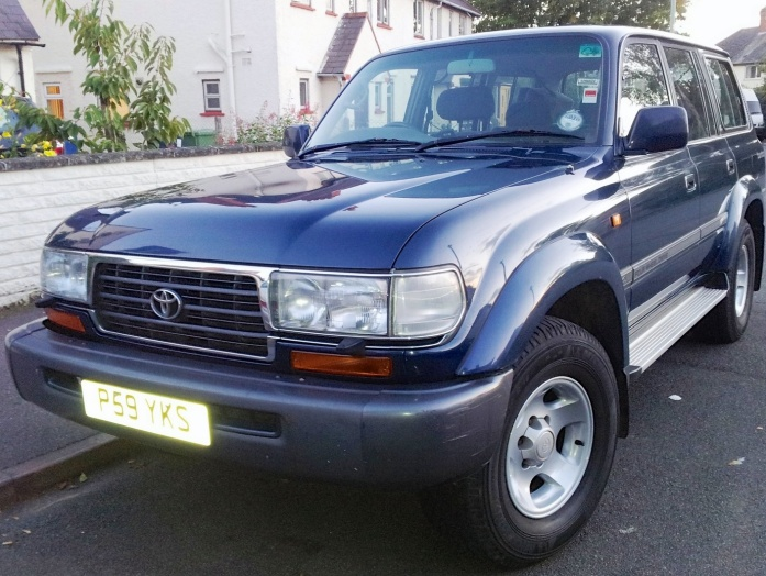 The, not yet named, 1997 Toyota Land Cruiser