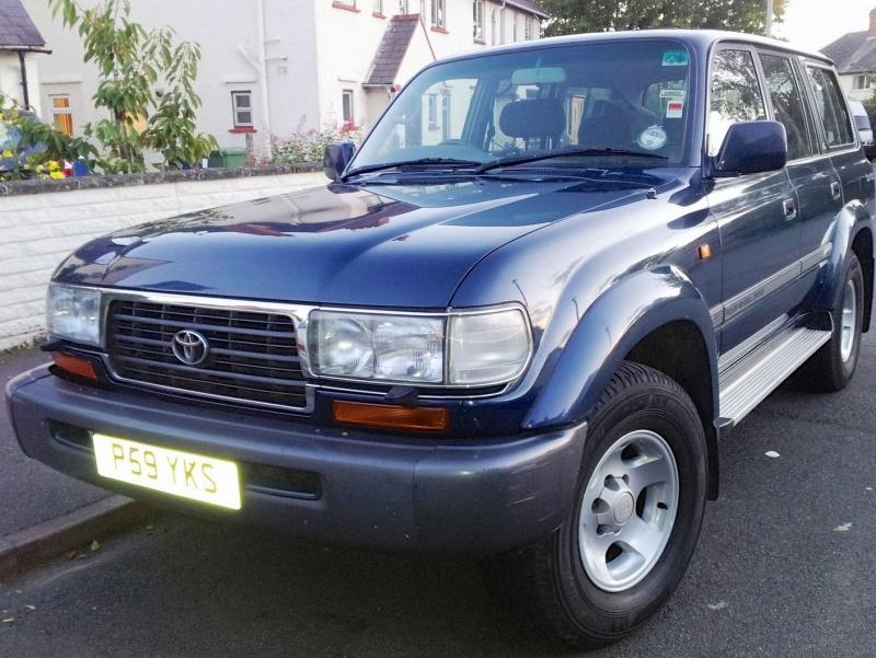 The, not yet named, 1997 Toyota Land Cruiser