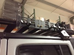The Hi-Lift roof rack mount. Photo Courtesy LabRak