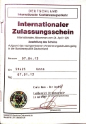 International Registration Booklet