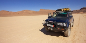 A stop in the Sahara