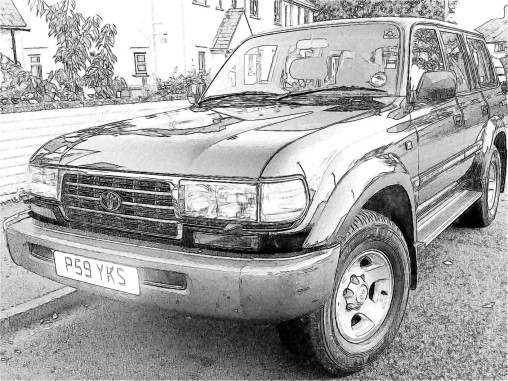 Truck when purchased