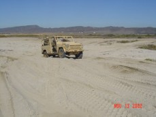 IFAV - sand in two-wheel drive