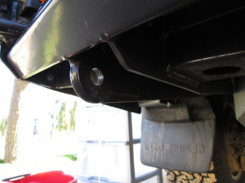 ARB rear bumper system: heavy duty tow points