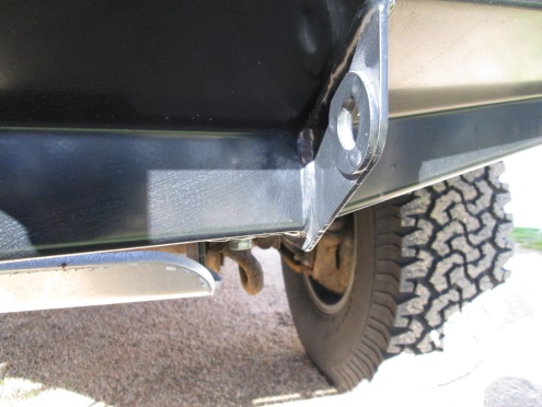 ARB 80-Series Bullbar with winch installation space: Heavy Duty Tow points