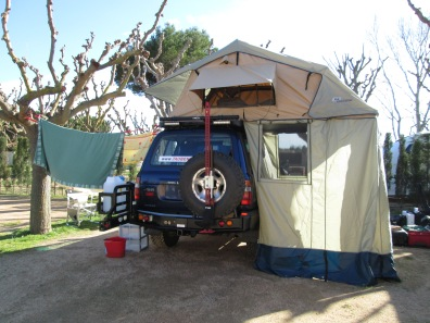ARB Simpson III tent and Annex