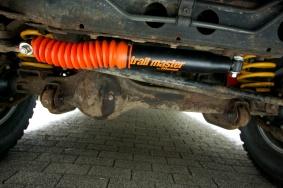 Steering damper upgrade